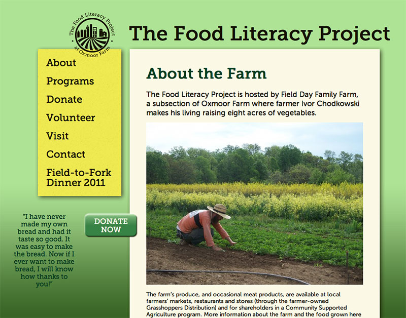 Food Literacy Project Scott Murray Alignedleft